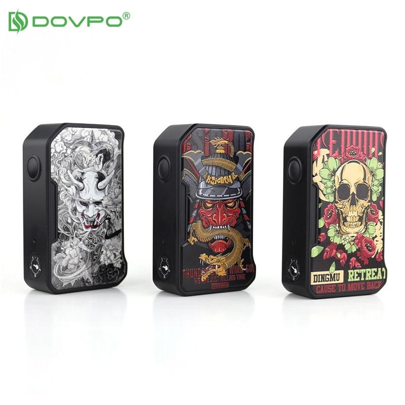 New Dovpo M VV II Box Mod 280W Vape Mods Powered By Dual 18650 Battery Adjustable Voltage Range Vs Drag 2 Shogun Gen Mod