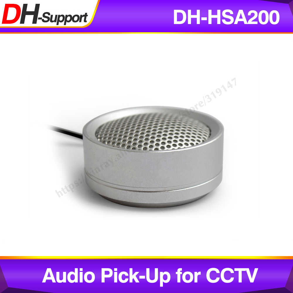 Dahua Audio Pickup DH-HSA200 Hi-Fidelity Audio Picker Microfoon Voor Dahua Hikvision Audio En Alarm Camera HSA200.