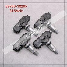 2012 2013 2014 2015 2016 2017 現代エラントラ 433 mhz 52933 3X205 タイヤ空気圧センサー tpms センサー 529333X205