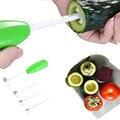 Принадлежности для кухни, 4 шт./компл., ковалка для овощей, спиральный резак для овощей, спиральный резак, креативный кухонный предмет