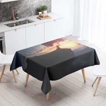 Прямоугольные скатерти Декоративная скатерть для стола с 3d