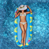 Aufblasbare Schwimmen Pool Auftreibenden Reihe Liege Hammcok Mesh Matratze Liege Stuhl Strand Wasser Party Spielen Spielzeug