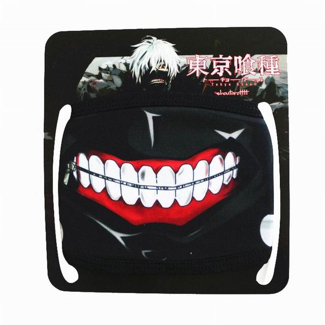 New Unisex Dust Anime Cartoon Cute Mask Cotton Mouth Mask Adjustable Face Masks Exhaust Gas Running Cycling Outdoor Activities 5