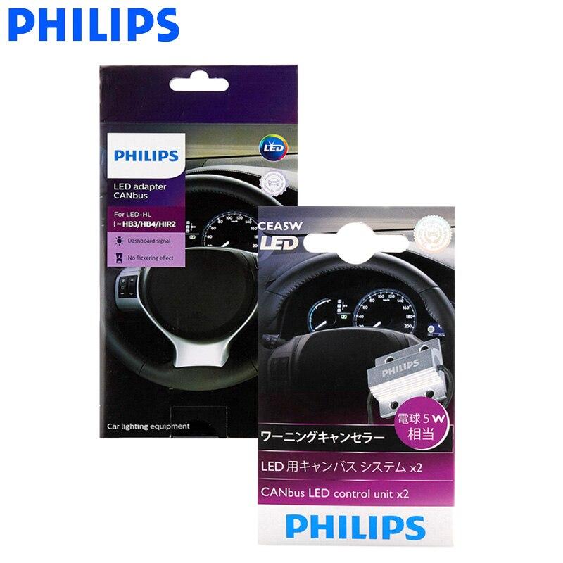 Philips LED Canbus Adapter H4 H7 H8 H11 H16 9005 9006 9012 HB3 HB4 H1R2 T10 T20 S25 Auto Lampen decoder Waarschuwing Canceller, paar