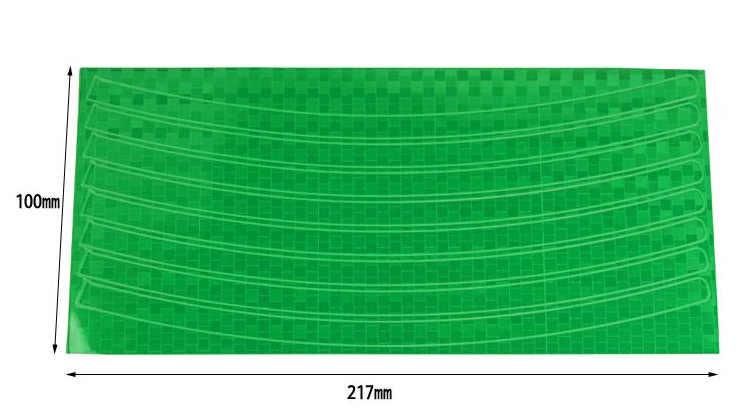 Fiets Reflector Tl Mtb Fiets Sticker Fiets Velg Reflecterende Stickers Decal Accessoires
