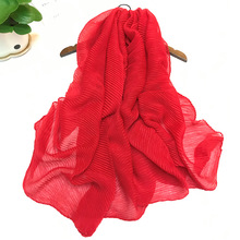Креативный шелковый шарф, креативный градиент давления, морщин, шарф, шаль, женский летний теплый шарф для поездок