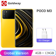 Version mondiale POCO M3 4GB 128GB Snapdragon 662 Octa Core 6000mAh batterie 48MP Triple caméra 6.53