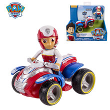 Paw Patrol Rescue Dog Puppy Set Toy Patrulla Canina Mighty Pups Super Paws Ryder Action Figure Marshall Vehicle Children Gift
