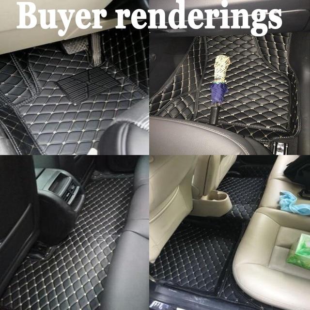 Tapis de sol en conduite droite | Pour Volvo C30 S60L S80L V40 XC60 XC90 5D, tapis de sol robuste