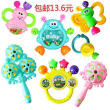 New Style Small Birth Hand-cranking Bell Infant Kids Voice Male Baby GIRL'S Cartoon Teether Toy Newborns St.(China)