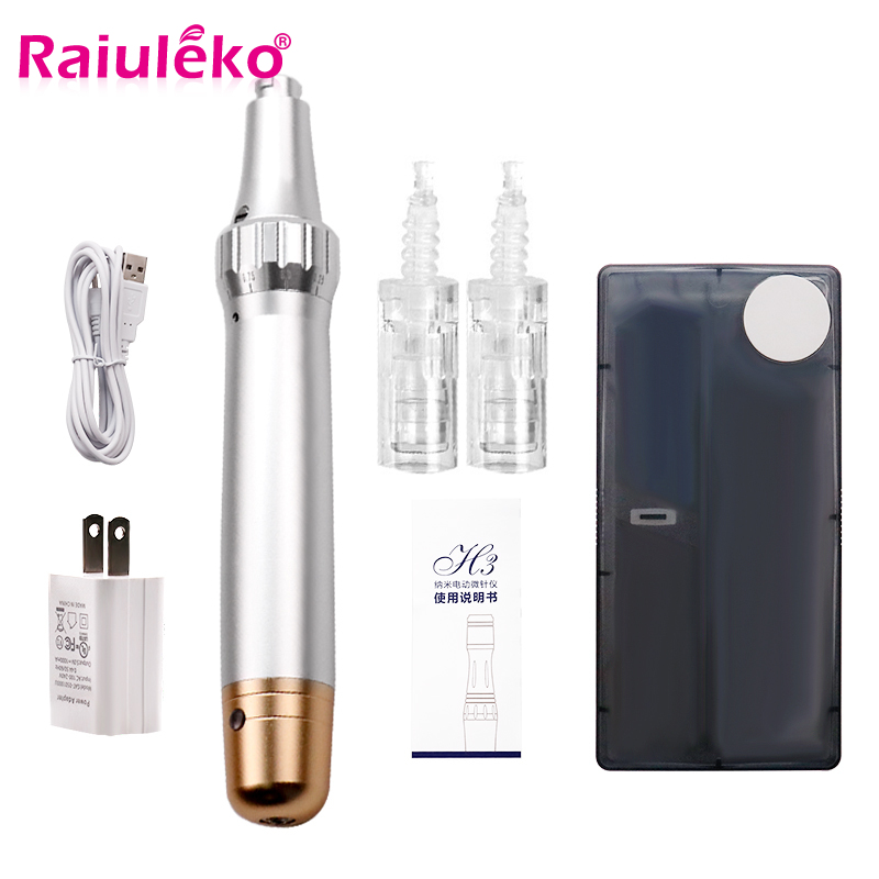Bayonet Port Needle Cartridge NeedleTips Exfoliate Shrink Pores Device Electric Micro Rolling Derma StampTherapy Beauty Tools