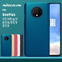 Nillkin – coque de protection Super givrée en PC pour OnePlus, compatible modèles 7T, 7 Pro, 7, 6T, 6, 5T, 7T, 7 Pro, 5, 3, 3T