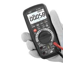 Cem DT-9959 bluetooth 50000 contagem cat iii 1000v ip67 4-20ma registrador de dados profissional verdadeiro rms multímetro digital marcas