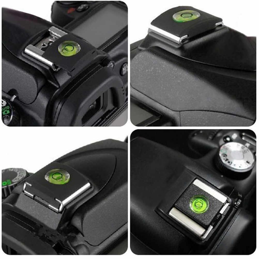 6 Cái/bộ Cho Sony A6000 Canon Nikon Gdeals Máy Ảnh DSLR Phụ Kiện Camera Bong Bóng Mức Độ Tinh Thần Giày Nóng Nắp Bảo Vệ