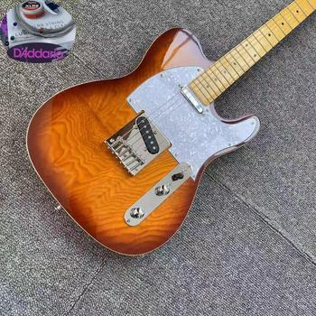 цена на TL electric guitar 22 frets maple,Canada GRAPH TECH Nut,Daddario strings,high quality Top Accessory Guitar Musical Instrument