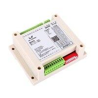 10 canais pt100 módulo de aquisição de resistência térmica modbus rtu rs485 comunicação