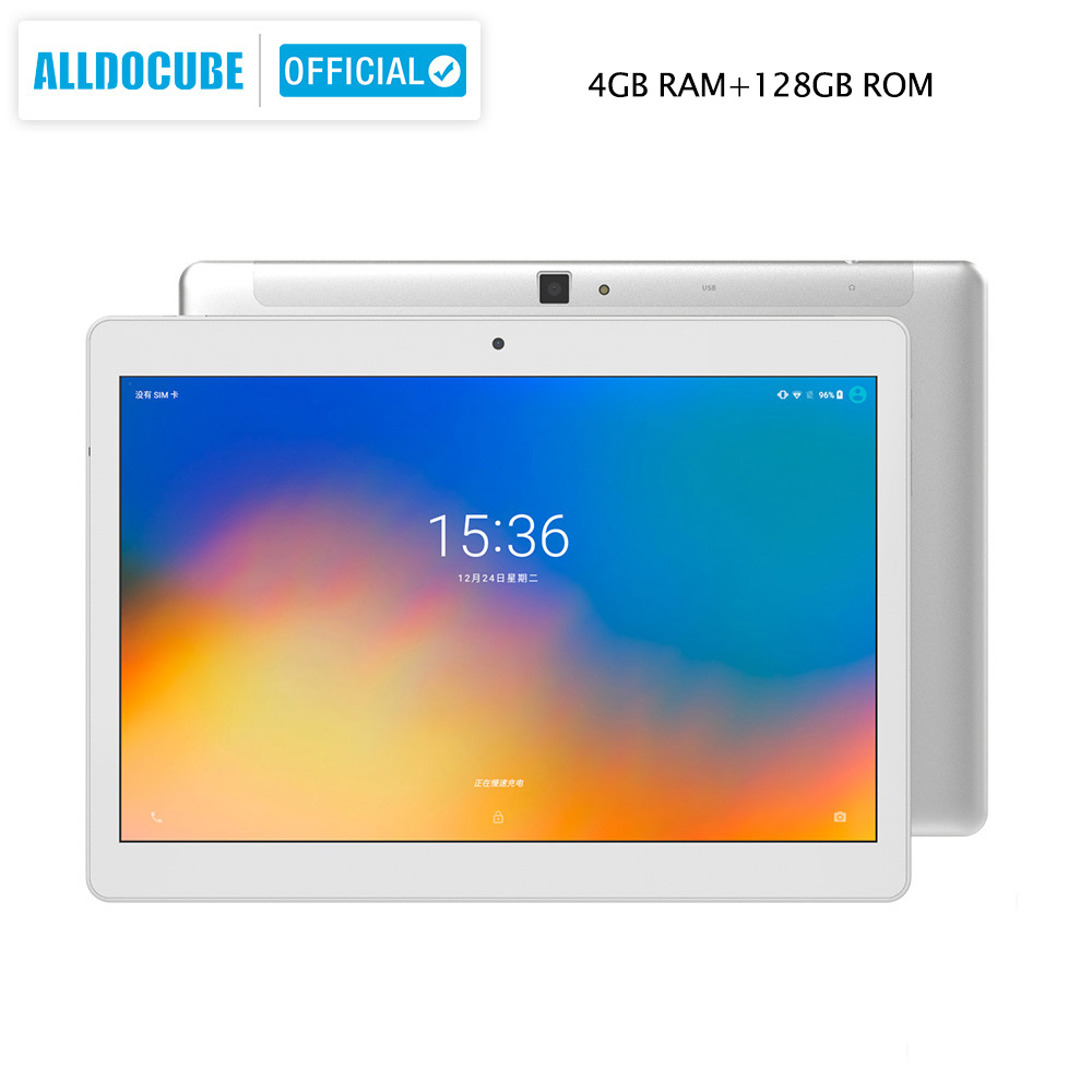 Image 2 - ALLDOCUBE M5X Pro 10.1 inch Tablet Android 4GB RAM 128GB ROM MTK X27 4G LTE 10 Core Phone Call Tablets PC 2560*1600 IPSTablets   -