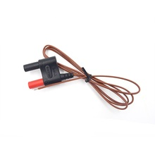 ZIBOO 80BK-A Type Mini K Thermocouple Temperature Integrated DMM Probe Cable  use for FLUKE Multimeter 2pcs bussmann dmm b 44 100 buss fuse 10x35mm 440ma 1000v for fluke multimeter f115c f116c f117c f87v f175 f177 f179 f287 f289