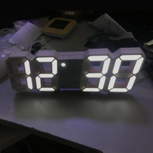 Alarm Table-Clock Nightlight Pared-Watch Digital Home LED Reloj 3D for Living-Room-Decoration