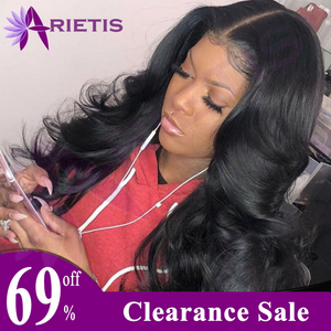 Body Wave Wig 360 150% Malaysian Transparent Lace Front Human Hair Wigs Pre Plucked Remy Human Hair Wigs For Black Women