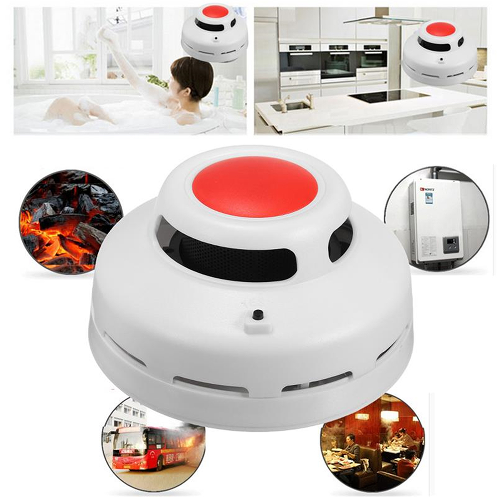 2 In1 Combination Carbon Monoxide And Smoke Alarm CO & Smoke Detector Home Security Warning Alarm System