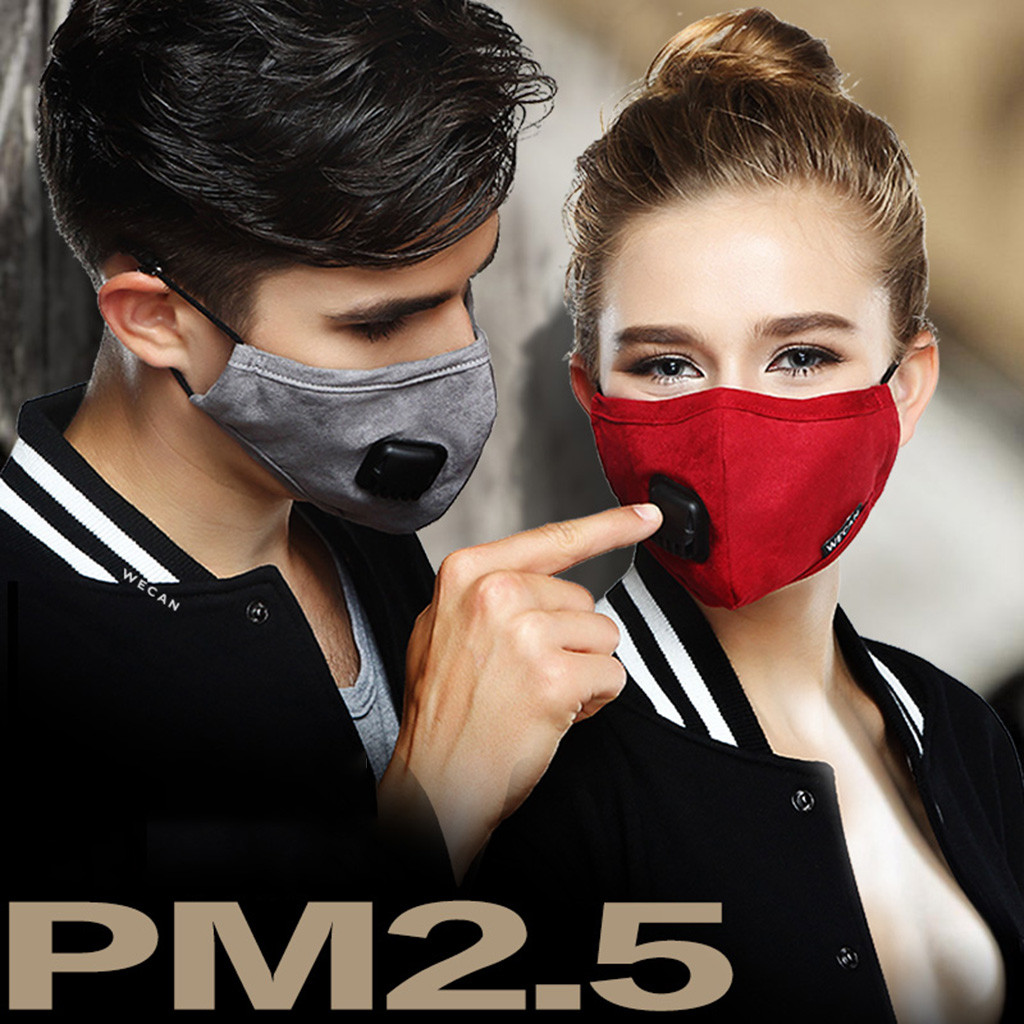 Breathable Anti Dust Mask  Windproof Mouth-muffle Bacteria Proof Flu Men And Women Face Masks Care Mask Mouth Mask