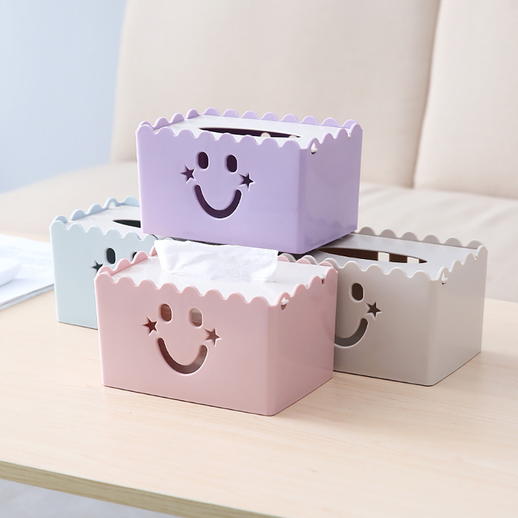 Smile Face Tissue Box Coffee Table