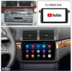 Image 5 - 2 Din Android 9.0 radyo Stereo GPS navigasyon için BMW E46 M3 Rover 75 Coupe 318/320/325/330/335Car radyo multimedya Video oynatıcı