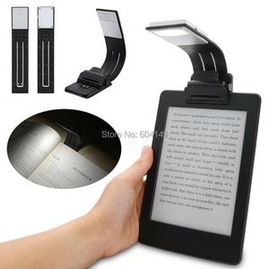 Перезаряжаемая электронная книга светодиодный светильник для Kindle Paper USB Led Power Bank лампа для чтения 4 интенсивности светильник ing гибкий E-read книжный светильник