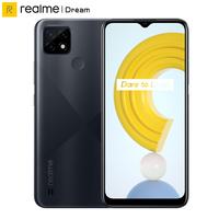 Global Version Realme C21 Smartphone 3GB 32GB Helio G35 Octa Core 6.5'' Screen 5000mAh Massive Battery 3-Card Slot 13MP Phone 1
