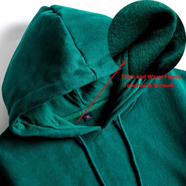 MOINWATER Brand New Women Fleece Hoodies Lady Streetwear Sweatshirt Female White Black Winter Warm Hoodie Outerwear MH2001 3
