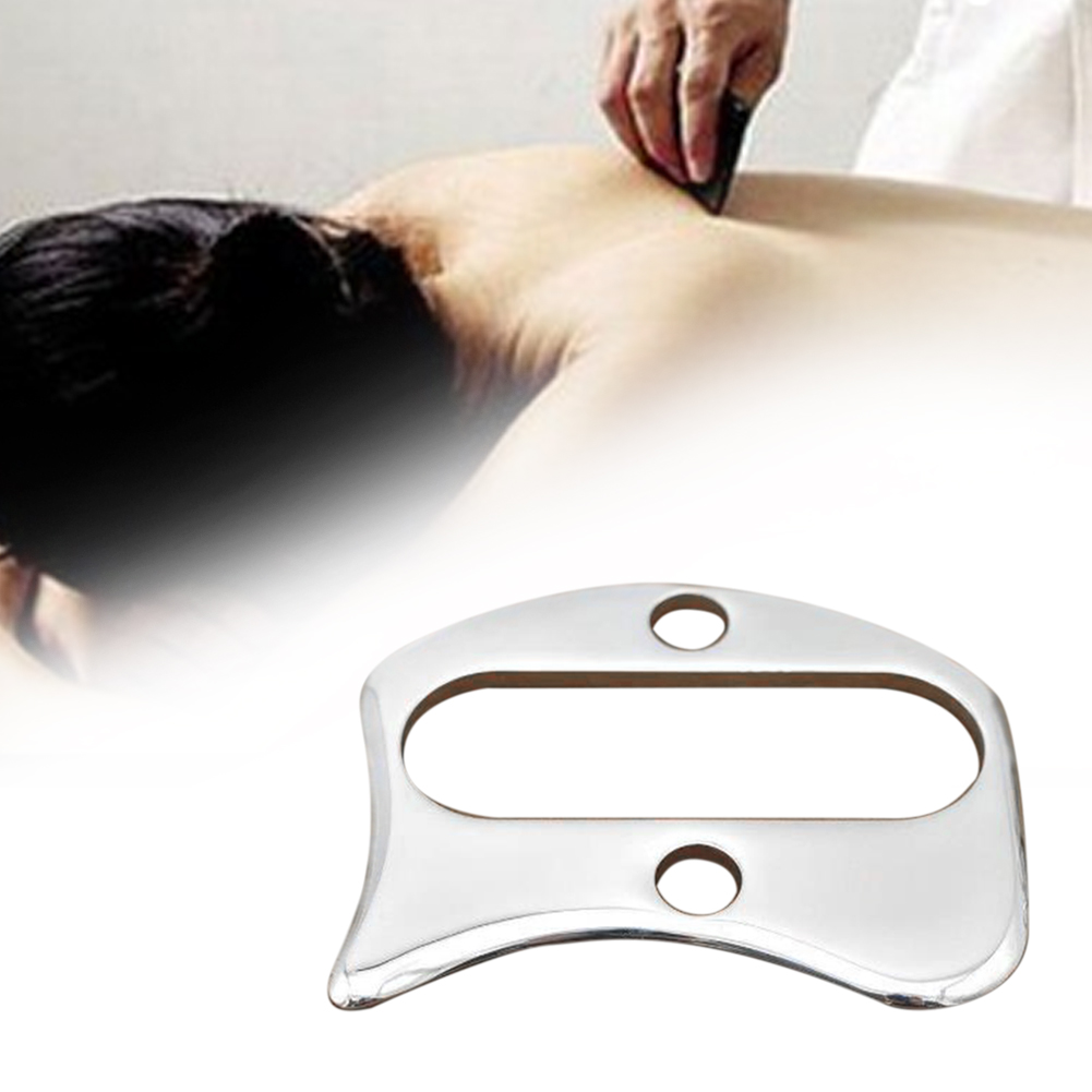Myofascial Massager Gift Scraper Release Body Muscles Care Handed Tool Stainless Steel Sports Pain Relief Back Physical Therapy