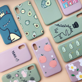 Soft TPU Painted Cartoon iPhone Case