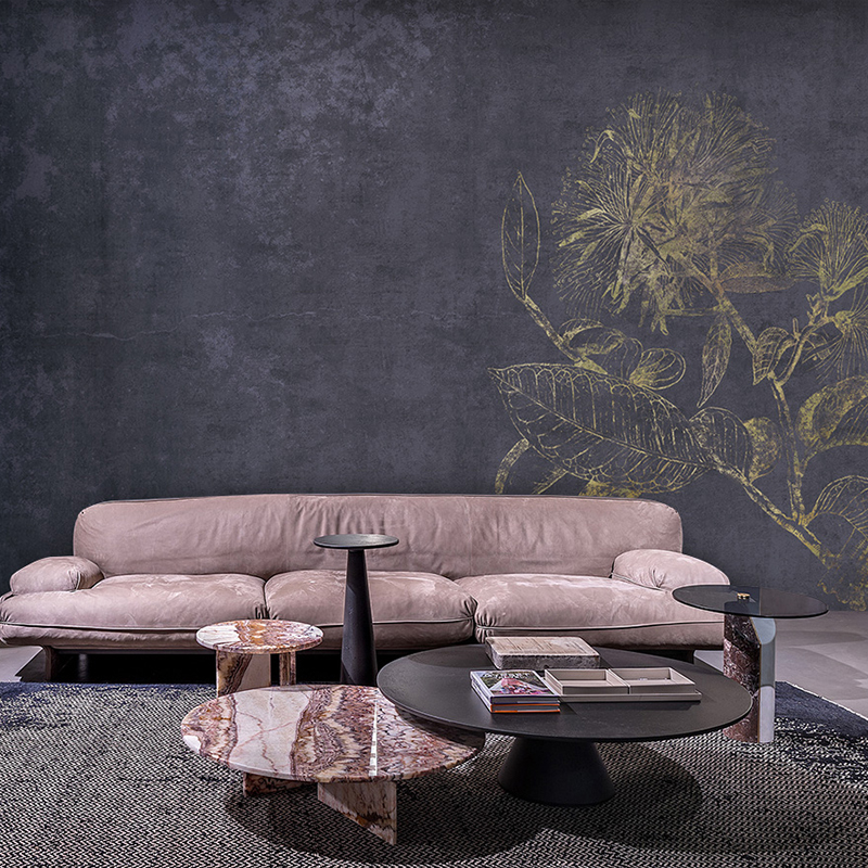 MASAR Retro Light Luxury Abstract Floral Custom Mural Sofa Background Wall Paper Aristocratic Romantic Wallpaper Flower Garden