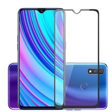 Full Cover Tempered Glass For OPPO Realme 3Pro x 2 1 pro For OPPO U1 C2 C1 2Pro 1 3i X 2 3 pro Screen Protector Toughened Film 9h anti burst protective glass for oppo realme x 3 2 1 pro tempered screen protector glass for oppo realme u1 c1 c2 3i x glass
