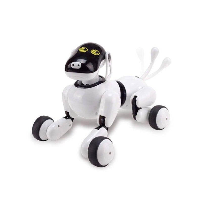 Детские игрушки 1803 AI собака Робот игрушка для вашей семьи и друзей приложение управление Bluetooth подключение умный электронный AI Pet игрушка дл