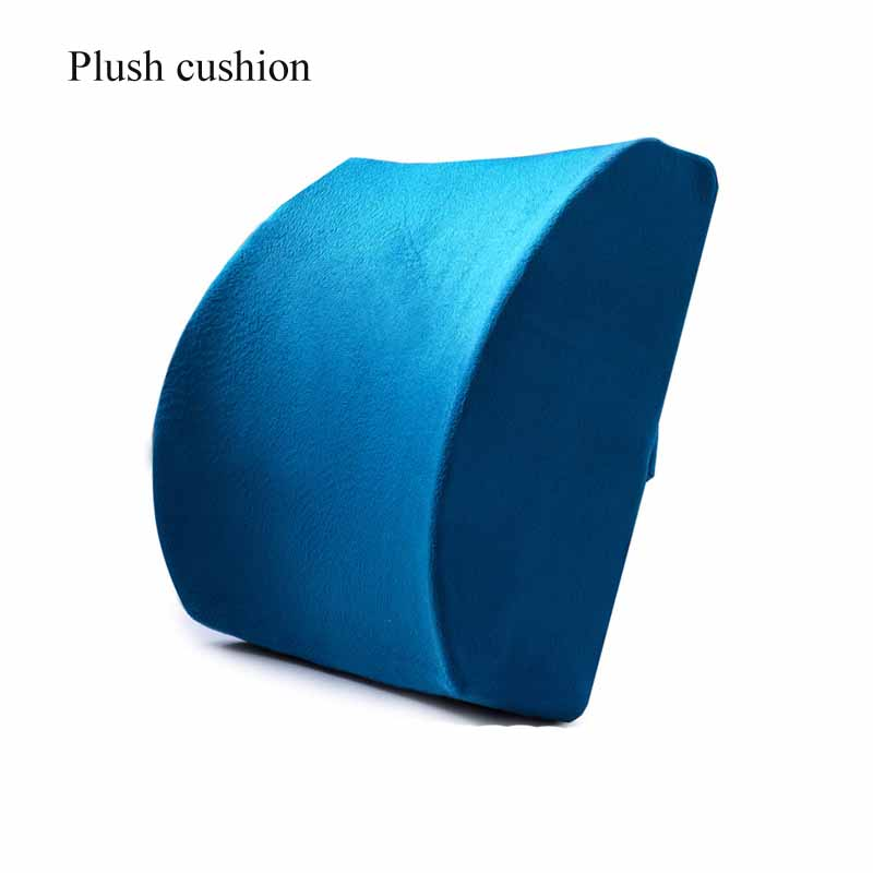 H5ce4b9d5b9fc4d02b190468f6697eb97o Car Seat Cushion Coccyx Orthopedic Memory Foam Seat Massage Chair Back Cushion Pad Office Massage Cushion