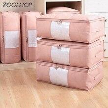 Модные горячие бытовые предметы сумки для хранения Органайзер одежда отделка одеяла мешок для пыли одеяло s мешок моющиеся стеганые сумки