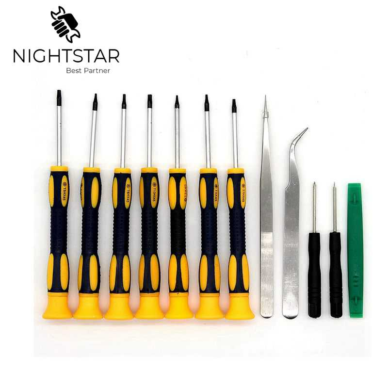 12 In1 Mobile Phone Repair Tools Kit Spudger Pry Opening Tool Screwdriver Set For IPhone IPad Samsung Cell Phone Hand Tools Set