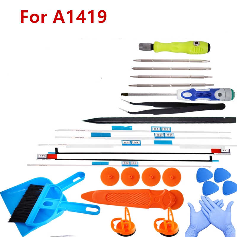 "Repair Kit for iMac A1419 Replacement LCD Display Upgrade Memory RAM HDD SSD Tape Adhesive Open Tool for iMac 27"" A1419 A2115"