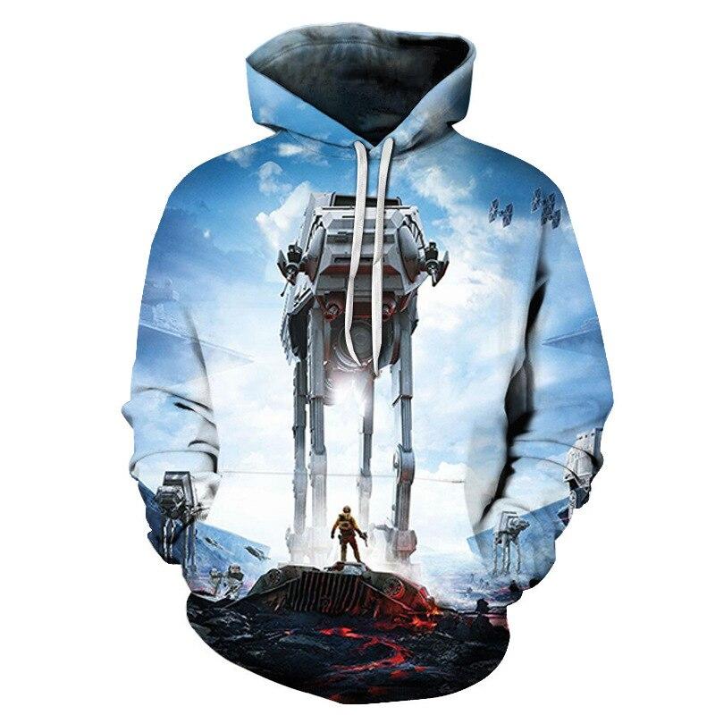 Fashion Star Wars Darth Vader Men//Women/'s 3D Print Sweatshirt Hoodies Pullovers