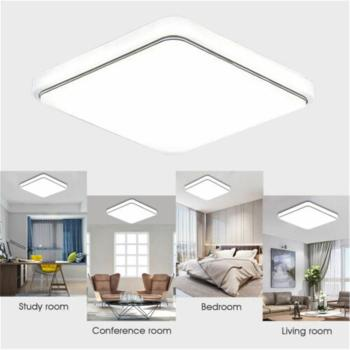 LED Ceiling Light Modern Lamp Living Room Lighting Fixture Bedroom Kitchen Surface Mount Flush Panel Remote Control yeelight smart led ceiling lamp indoor lighting modern led light fixture app remote control surface mounted for living room 50w