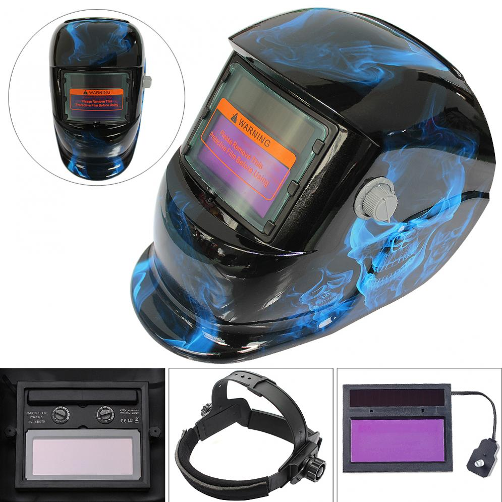 Electric Welding Mask Adjust Solar Auto Darkening Welding Helmets Face Mask