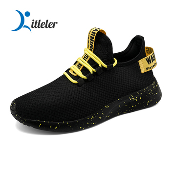 Breathable Mesh Sport Running Shoes Men Fashion Sneakers Lightweight Trainers Casual Shoes Non-slip Sneakers Zapatillas Hombre fashion black white men shoes sneakers slip on platform mesh men casual shoes breathable outdoor mens trainers zapatillas hombre
