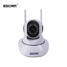 Ip-Ir-Camera Wifi ESCAM Audio-Onvif Security Pan/tilt Support G02 720P Max-Up Dual-Antenna