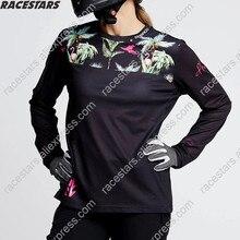 Enduro Джерси женские MTB горный велосипед Велоспорт Джерси MX с длинным рукавом рубашка велосипедов Спорт на открытом воздухе Ropa Ciclismo Одежда
