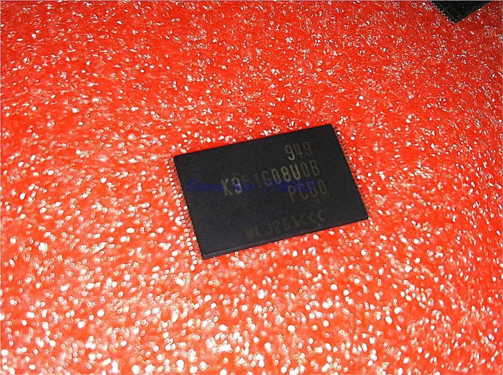 5pcs/lot K9F1G08U0B-PCB0 K9F1G08U0B K9F1G08 TSOP-48