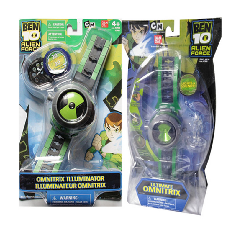 Ultimate Omnitrix Watch Style Japan Projector Watch DAI Genuine Watches Action Figure Model Toy Doll Gift