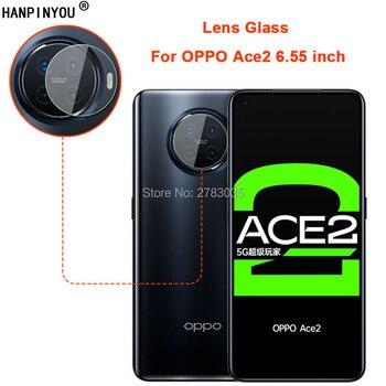 Перейти на Алиэкспресс и купить Для OPPO Ace2 Ace 2 6,55 дюйм, прозрачная ультратонкая защитная задняя крышка для объектива камеры, защитная пленка из закаленного стекла для объектива ...