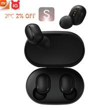 Xiaomi Redmi AirDots Low Lagโหมดซ้าย = ขวาTWSหูฟังบลูทูธชุดหูฟังBT5 True Wireless Stereo Auto Link
